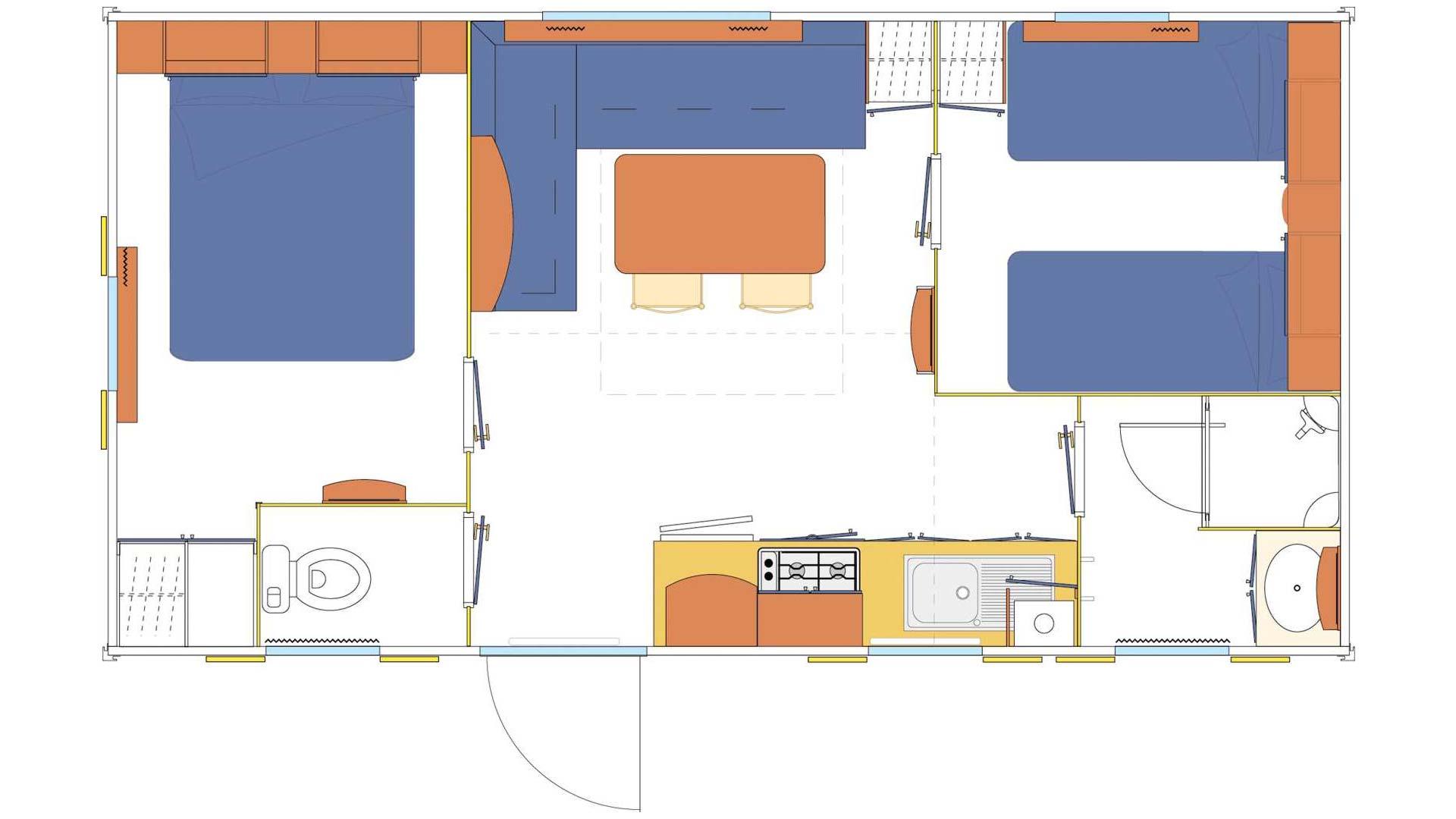 Plan Modèle o'Phéa 724