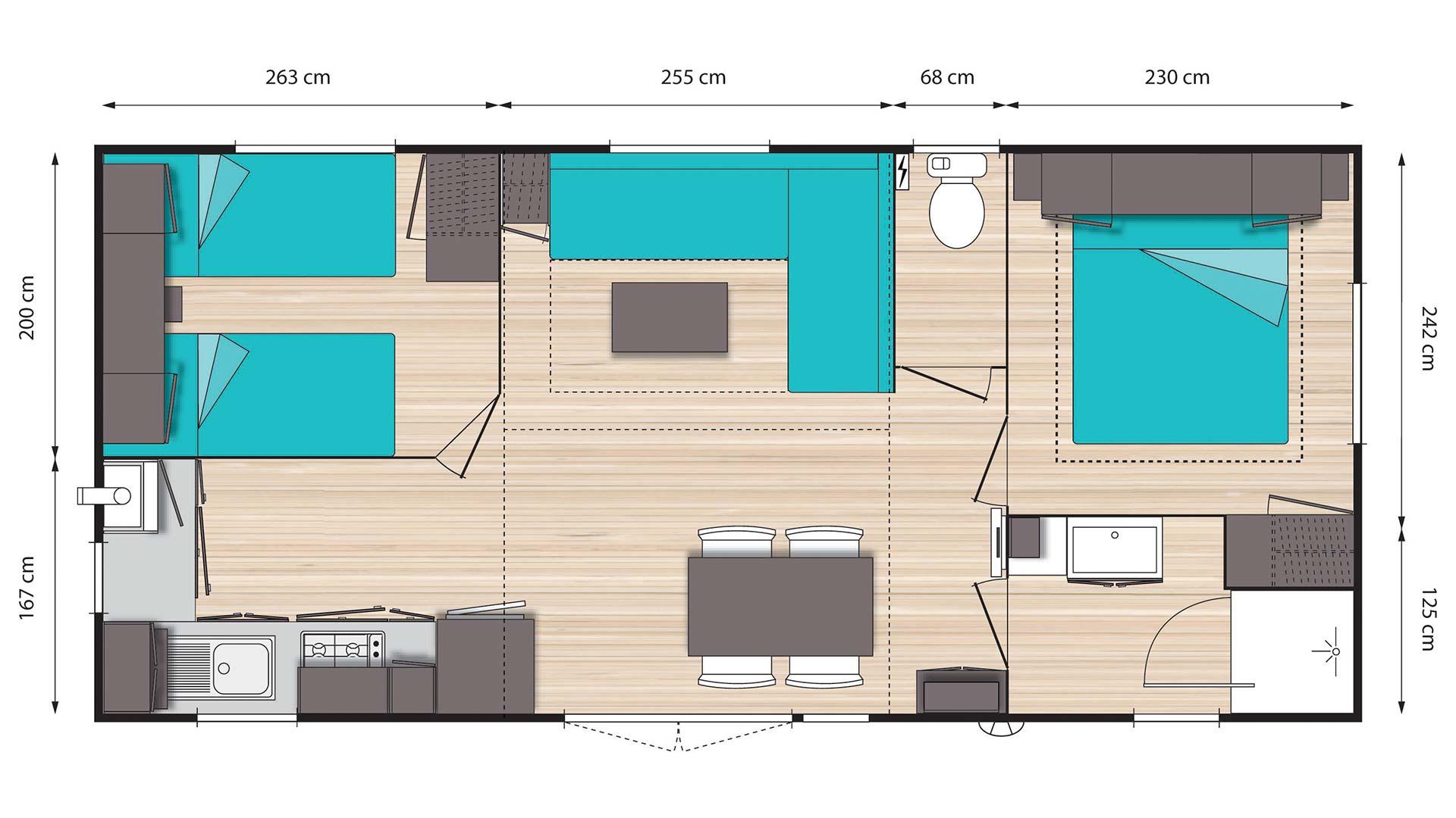 Plan Modèle o'Phéa 834
